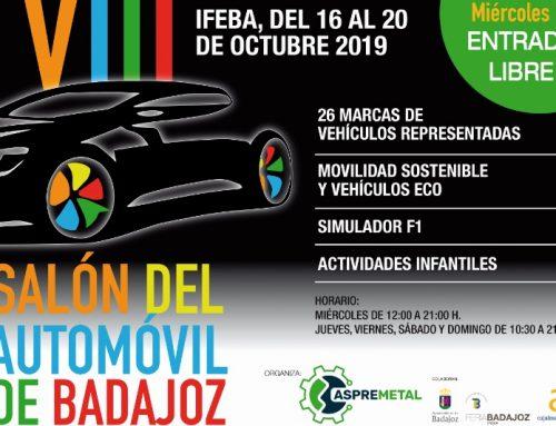 ASPREMETAL ORGANIZA EL SALÓN DEL AUTOMÓVIL 2019