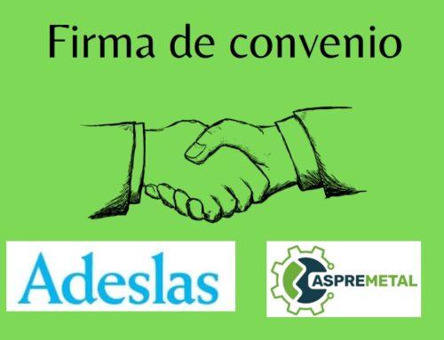 ASPREMETAL FIRMA CONVENIO CON ADESLAS