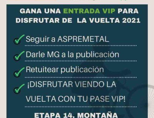 Aspremetal y Fenie Energía te invitan a LA VUELTA ciclista con pase VIP