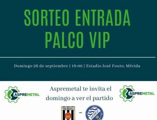 ASPREMETAL e inimia Comunica te invitan al partido de fútbol del Mérida contra el Xerez Deportivo